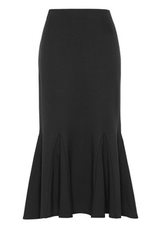 Banana Republic Ponte Trumpet Midi Skirt