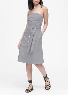 Banana Republic Poplin Button-Down Dress