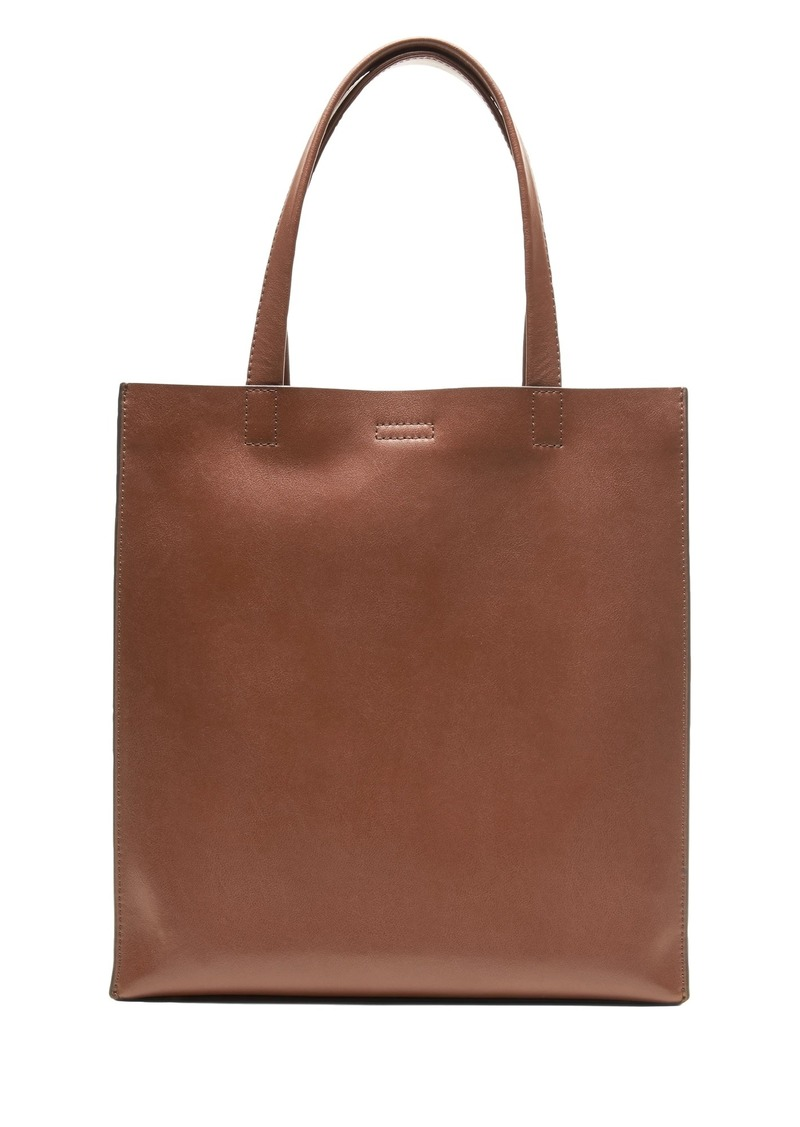 aedfa17ed299 SALE! Banana Republic Portfolio Structured Tall Leather Tote