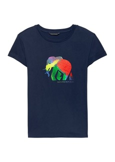 Banana Republic Pride 2018 Elephant Roll-Cuff T-Shirt (Women's Sizes)