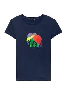 Banana Republic Pride 2018 Elephant Roll-Cuff T-Shirt (Women's Sizes)