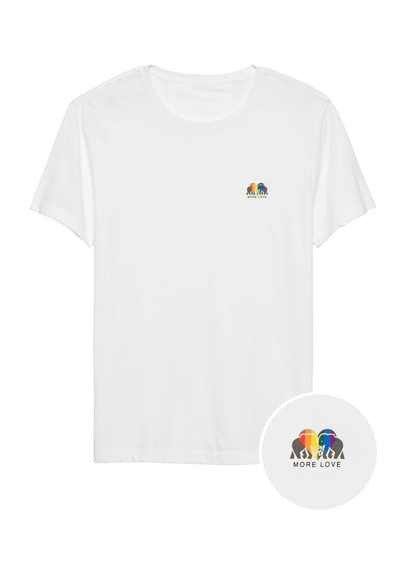 Banana Republic Pride 2019 More Love T-Shirt (Men's Sizes)