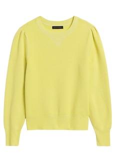 Banana Republic Puff-Sleeve Sweater Top