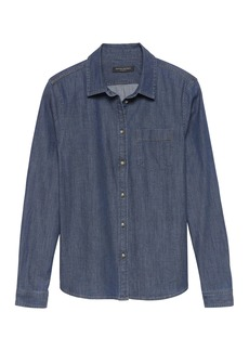 Banana Republic Quinn Boy-Fit Denim Shirt