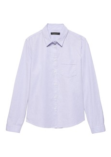 Banana Republic Quinn Straight-Fit Oxford Shirt