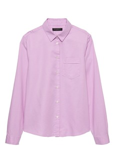 Banana Republic Quinn Boy-Fit Oxford Shirt