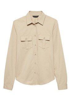 Banana Republic Quinn Straight-Fit Utility Shirt