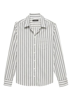 Banana Republic Quinn Straight-Fit Stripe Shirt