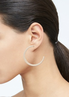 Banana Republic Raffia Hoop Earrings