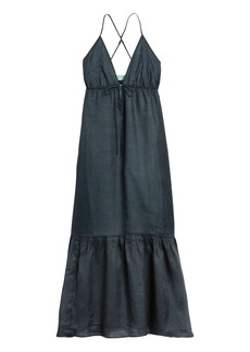 Banana Republic Ramie Maxi Dress