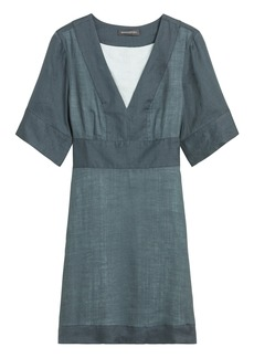 Banana Republic Ramie Mini Dress