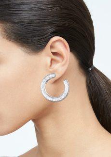 Banana Republic Resin Glitter Hoop Earrings