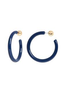 Banana Republic Resin Skinny Hoop Earrings