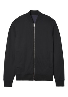 Banana Republic Reversible Luxury-Touch Bomber