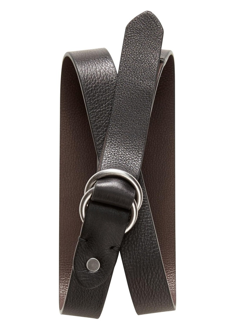 Banana Republic Reversible O-Ring Belt