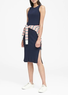 Banana Republic Rib-Knit Sheath Dress