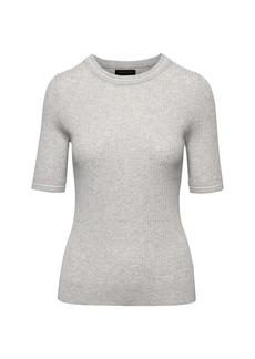 Banana Republic Ribbed Crew-Neck Sweater Top