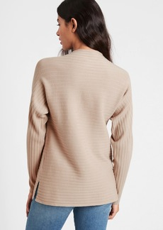 Banana Republic Ribbed Funnel-Neck Sweater
