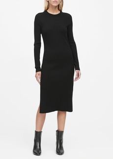 Banana Republic Ribbed Sweater Dress