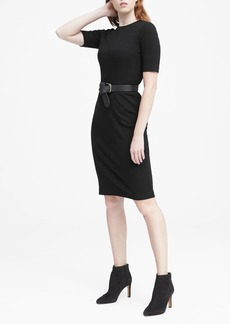 Banana Republic Ribbed T-Shirt Dress