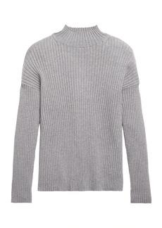 Banana Republic Ribbed Turtleneck Sweater Top