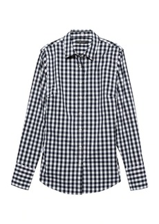 Banana Republic Riley Tailored-Fit Gingham Shirt