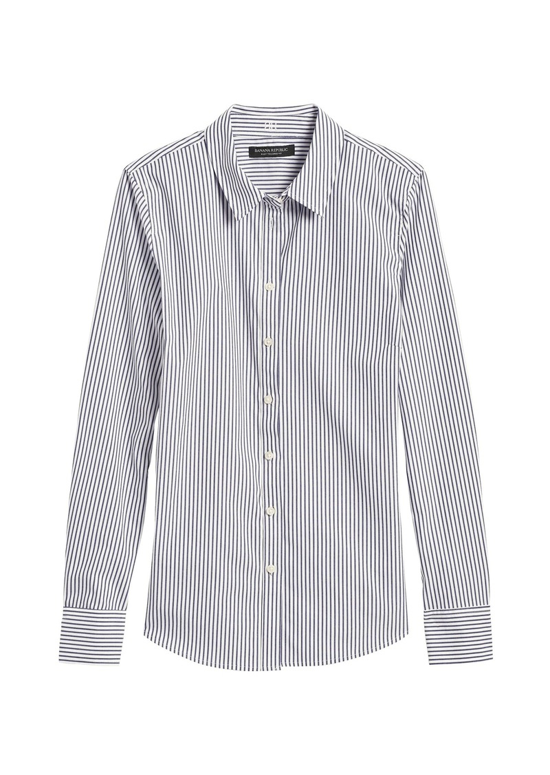 Banana Republic Riley Tailored-Fit Stripe Shirt