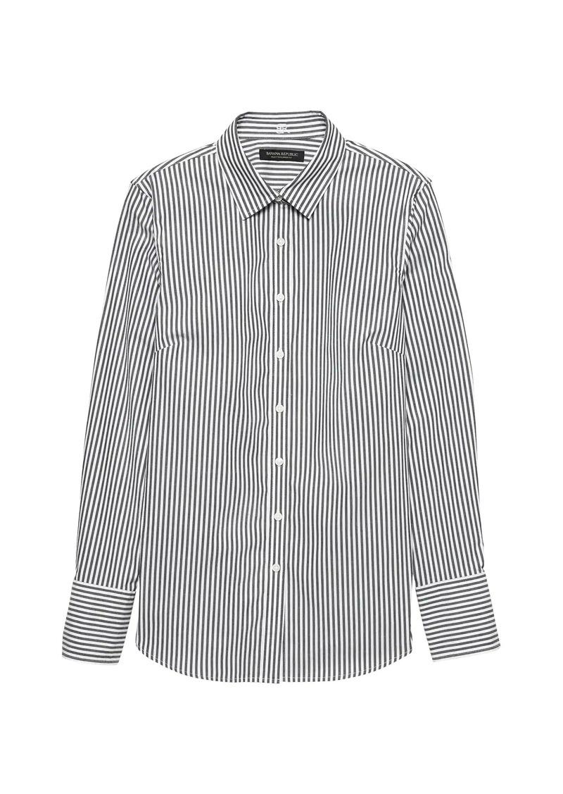 Banana Republic Riley Tailored-Fit Stripe Shirt