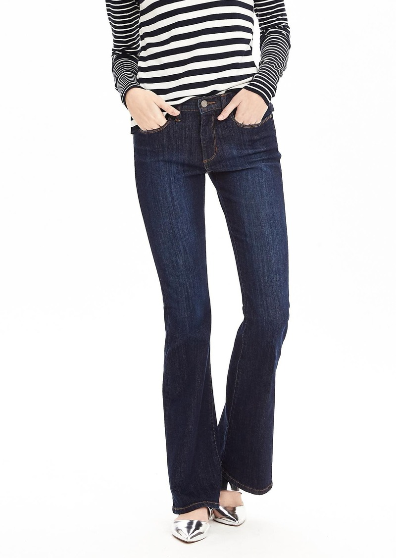 Banana Republic Rinse Wash Flare Jean
