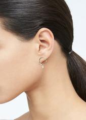 Banana Republic Round Crystal Stud Earrings