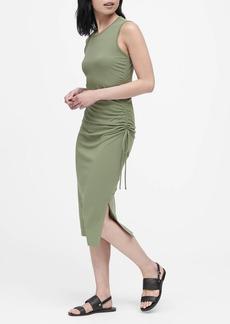 Banana Republic Ruched Midi Dress