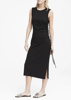 Banana Republic Ruched Midi Dress