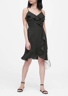 Banana Republic Ruffle Fit-and-Flare Dress