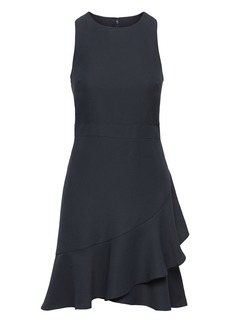 Banana Republic Ruffle Wrap Racerback Dress