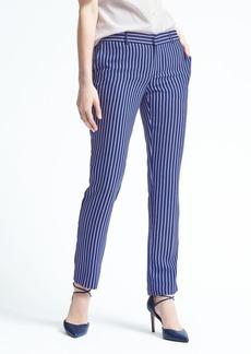 Banana Republic Ryan-Fit Blue Stripe Pant