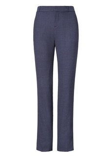 Banana Republic Ryan Slim Straight-Fit Lightweight Wool Solid Pant