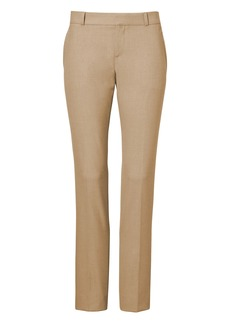Banana Republic Ryan Slim Straight-Fit Luxe Brushed Twill Pant
