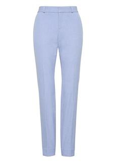 Banana Republic Ryan Slim Straight-Fit Machine-Washable Birdseye Pant