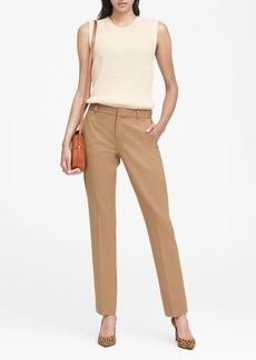 Banana Republic Ryan Slim Straight-Fit Machine-Washable Pant