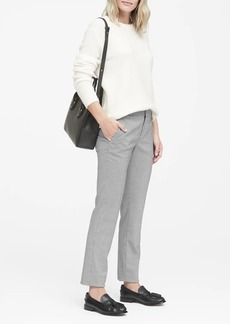 Banana Republic Ryan Slim Straight-Fit Washable Houndstooth Pant