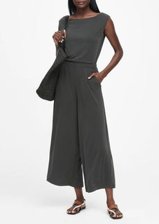 Banana Republic Sandwash Modal Cropped Jumpsuit