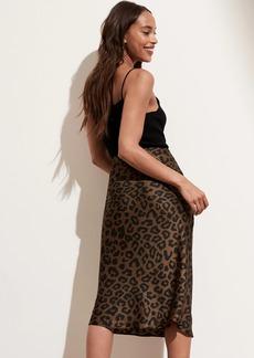 Banana Republic Satin Bias-Cut Midi Skirt