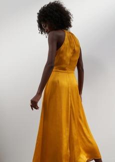 Banana Republic Satin Midi Dress