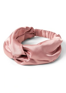 Banana Republic Satin Twist Headband