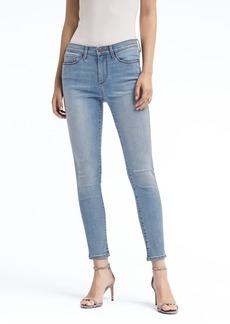 Skinny Sculpt Light Wash Ankle Jean