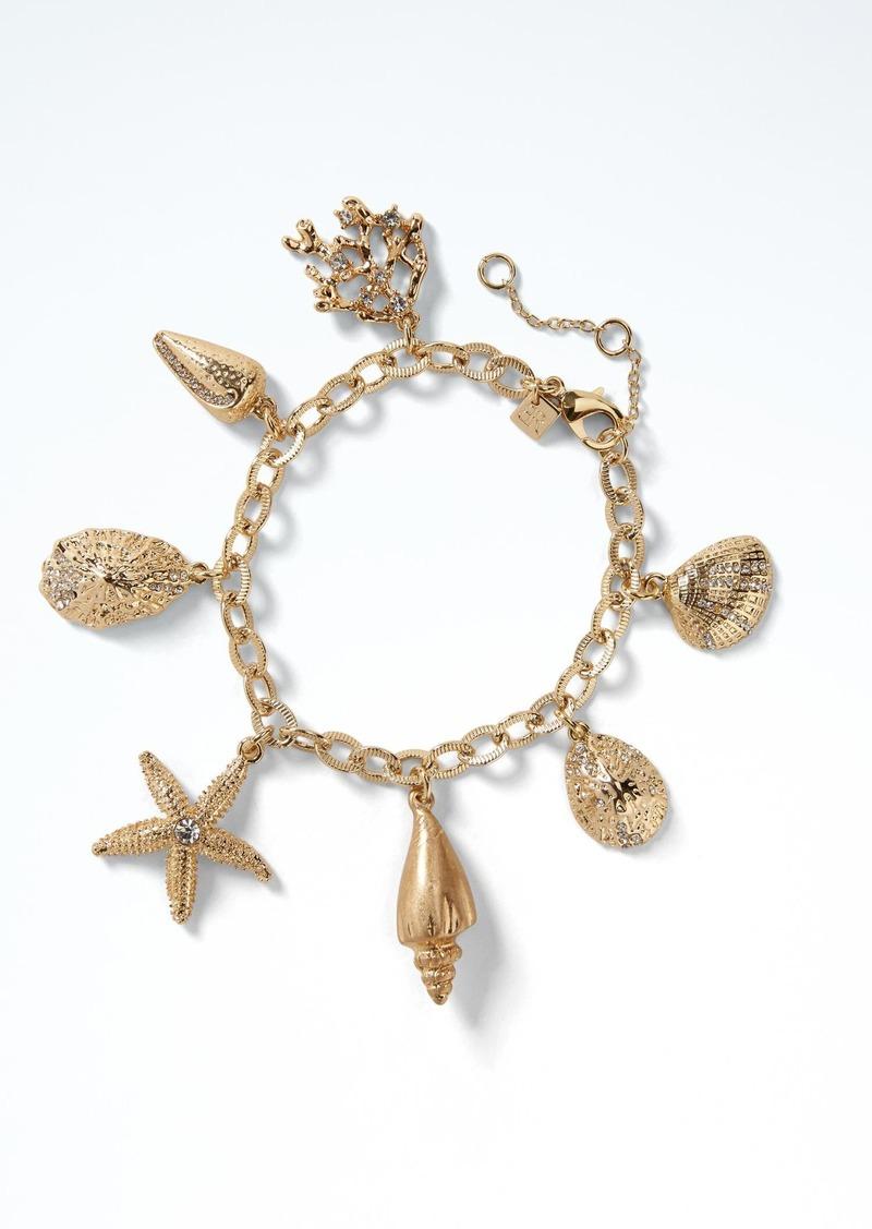 Banana Republic Sea Life Charm Bracelet