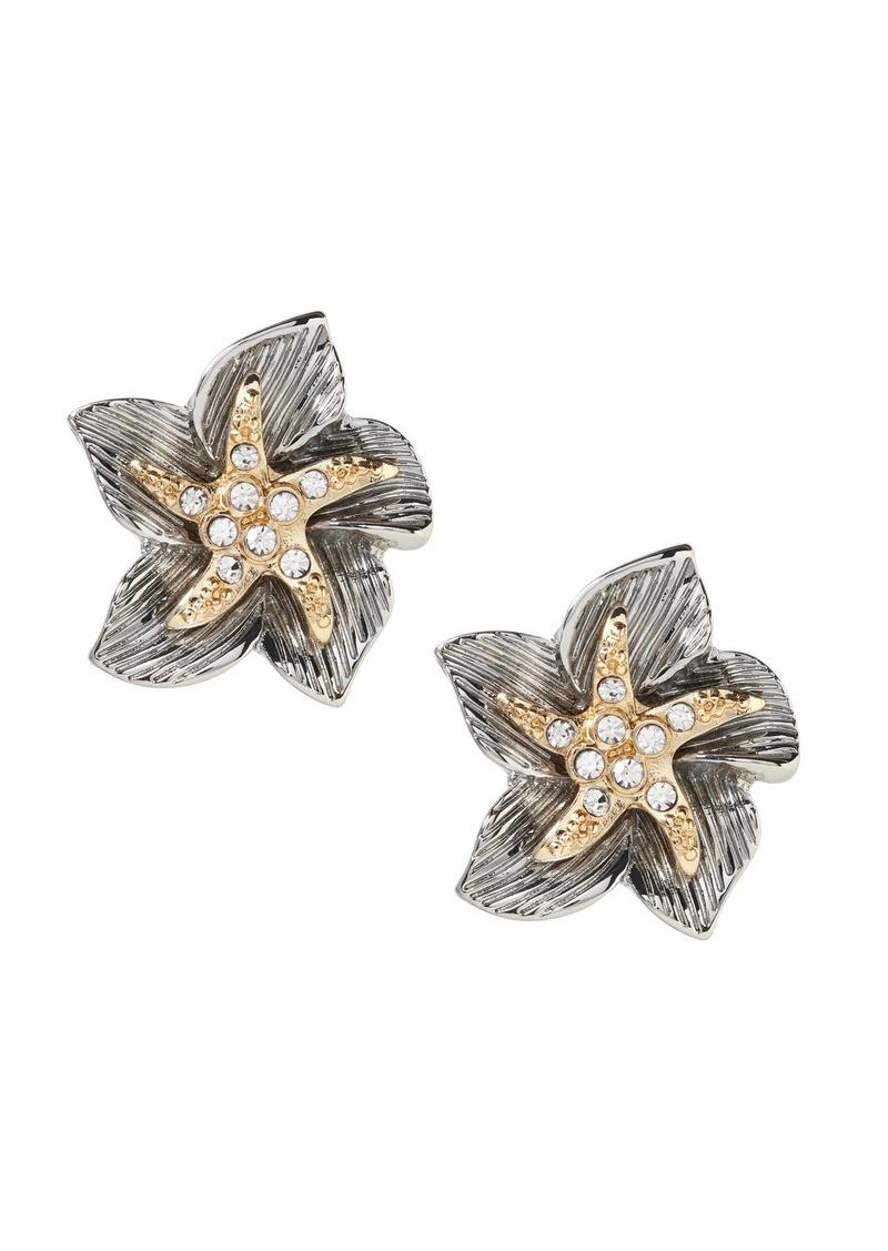 Banana Republic Sea Life Star-Flower Earring