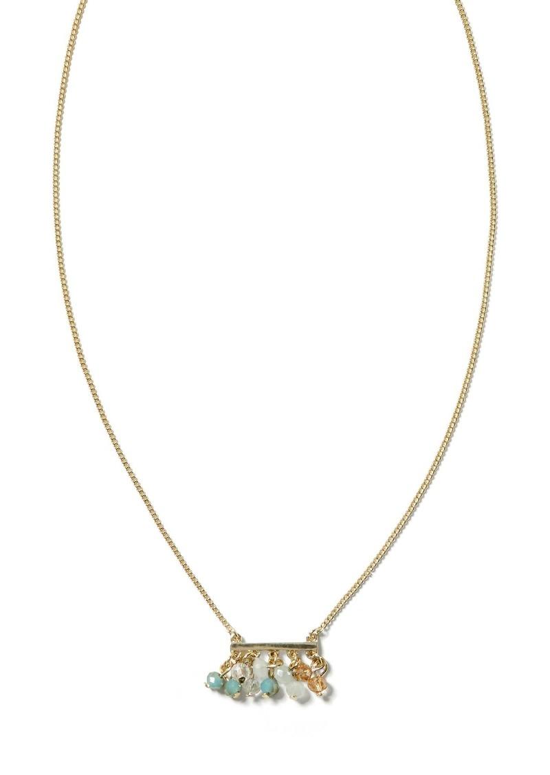 Banana Republic Seaglass Delicate Necklace