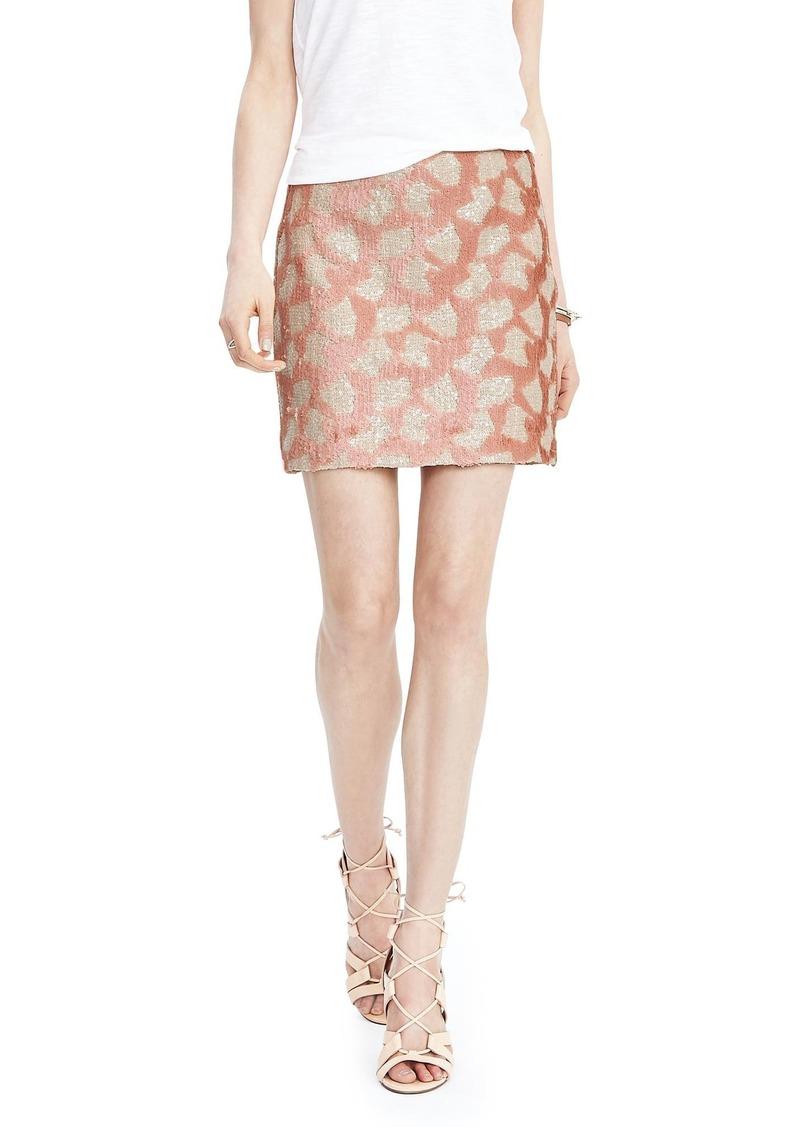 Banana Republic Sequin Mini Skirt