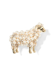 Banana Republic Sheep Brooch